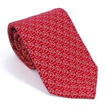 Vineyard Vines Tie Sail Fish Red Silk Mens Necktie New Photo