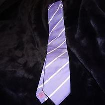 Vineyard Vines Tie Silk Usa Purple Used Photo