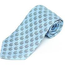 Vineyard Vines Tie Sky Blue Keys Usb Silk Necktie 79 Retail New  Photo