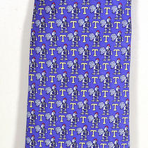 Vineyard Vines Trinity College Bantam Rooster Custom Silk Tie  Photo