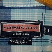 Vineyard Vines Whale Button-Front Short Sleeve Shirt Small (New With Tags) Photo