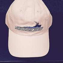 Vineyard Vines White Whale Speedboat Fishing Boat Baseball Cap Hat Nwt Photo