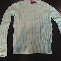 Vineyard Vines Women's Cable Knit Sweater - Xs Photo