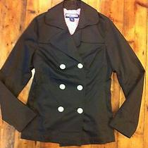 Vineyard Vines Women's Double Breasted Brown Blazer Jacket- Size Xs-Retails 155 Photo