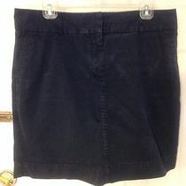 Vineyard Vines Women's Navy Blue a-Line Mini Skirt Size 10 Photo