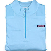 Vineyard Vines Womens Whale Line Dolphin Blue Pullover Shep Shirt S New Photo