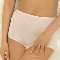 Vint New Vanity Fair Luxurious Ravissant Full Brief Nylon Panty Blush Pink Sz 8 Photo