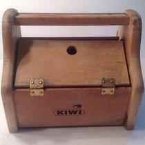 Vintaage Kiwi Shoe Shine Box Photo
