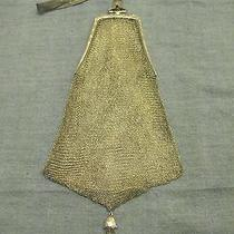 Vintage (1901-1919 Edwardian Era) Sterling Silver Whiting and Davis Mesh Purse  Photo