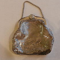 Vintage 1920's Whiting & Davis Art Deco Metal Mesh Bag - Sm Hand Bag  Photo