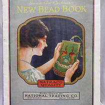 Vintage 1924 Emma Post Barbour's New Bead Book Original Book (Not Repro) Photo