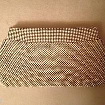 Vintage1950s Whiting & Davis White Mesh Evening Clutch Bag Photo