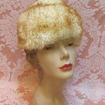 Vintage 1960s Caramel-Tipped Tuscan Lamb Italy Dr. Zhivago Fur Hat Exc 19.99 Photo