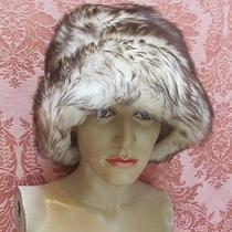 Vintage 1960s Dr. Zhivago Chinchilla-Look  Genuine Tuscan Lamb Fur Cossack Hat Photo