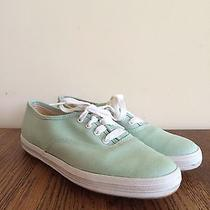 Vintage 1960s Keds 5.5 Mint Green Photo
