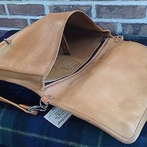 Vintage 1970's Minimalist Baseball Glove Leather Surface Pro Briefcase Bag R598 Photo