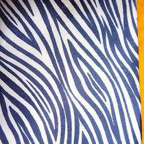 Vintage 1970's  Ysl Yves Saint Laurent Mens Silk Dress Shirt Tie Zebra Stripe Photo