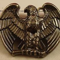 Vintage 1970s Avon American Eagle Belt Buckle   Photo