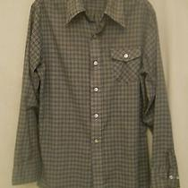 Vintage 1970s Levi's Panatela Sportswear Men's Large Plaid Long Sleeve Shirt Photo
