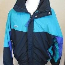 Vintage 1980/90's Columbia Snow Ski Jacket Gadzooks Radial Sleeve Men's Xl Photo