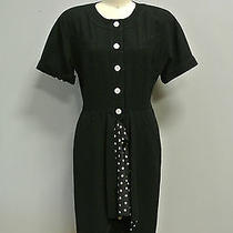 Vintage 1980's Fendi Dress With Polka Dots  Photo
