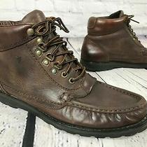 Vintage 1980's Frye Brown Leather Chukka Ankle Boots Men's 9 M Photo