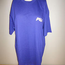 Vintage 1980s 1990s Promotional Prism Tv Channel Blue Shirt - Size Xl Nwot Photo