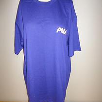 Vintage 1980s 1990s Promotional Prism Tv Channel Blue Shirt - Size Xl Nwot Photo