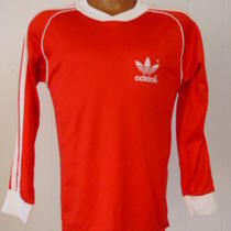 Vintage 1980s Old School Adidas Shirt Medium Photo