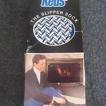 Vintage 1981 Keds Slipper Socks Usa Acrylic Socks Blue Rare Photo