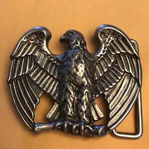 Vintage 1982 Avon Majestic Eagle Belt Buckle Pewter Color New Never Worn Photo