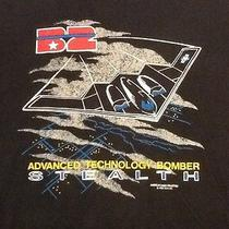 Vintage 1988 B2 Stealth Bomber Size Xl Tee Shirt by American Eagle  Made in Usa Photo