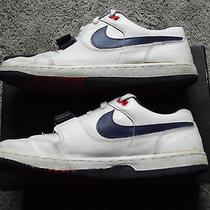 Vintage 1988 Nike Low Tops Velcro Strap Size 13 Photo