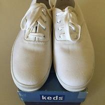 Vintage 1991 White Womens Champion Oxford Keds in Like New Condition Size 9 Photo