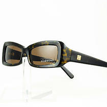 Vintage 2000 Givenchy Sunglasses Nos Deadstock Dark Havana Olive Made in Italy Photo