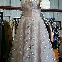 Vintage 50s Tulle Dress Soft Lilac Over Blush Pink Rare Blum's Vogue Chicago  Photo