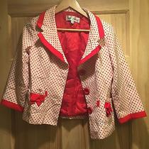 Vintage 60s 70s Mod Pop Art Jacket Blazer Polka Dot Sara Campbell Photo
