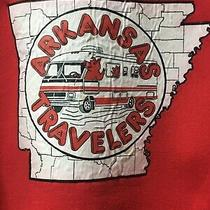 Vintage 70s 80s Arkansas Travlers Sweatshirt L Rv Club Motor Coach Car Classic Photo