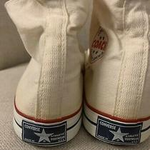 Vintage 70s Converse Coach Blue Label Tag Sneakers Made in Usa Comfort Arch 11.5 Photo
