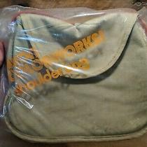 Vintage 70s or 80s Avon Colorworks Canvas Rainbow Shoulder Bag Purse New in Bag Photo