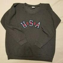 Vintage 80's-90's Guess Usa Georges Marciano Embroidered Sweatshirt One Size Photo