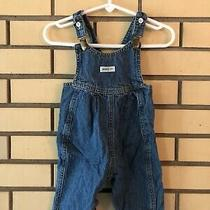 Vintage 80s Baby Guess Blue Denim Overalls Size 6 Months Georges Marciano Usa Photo