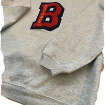 Vintage 80s Bum Equipment Crew Neck Hoodie Sweatshirt Size Small Photo
