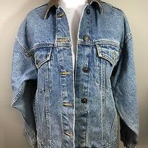 Vintage 80's Exp Express Denim Jean Jacket Sz Xs 100% Cotton Photo