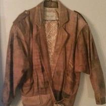 Vintage 80's  Limited Express Women's Leather Jacket Size M Photo