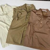 Vintage 80's Parker of Vienna 50/50 Thin Polo Pocket Shirt Mens L Rockabilly Lot Photo
