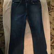 Vintage '80s Bcbg Paris Designer Stretch Jeans Boot Cut Color Blue Size 12 Euc Photo