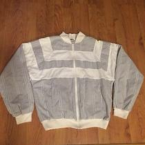 Vintage 80s Dior Monsieur Striped Jacket Womens Size Medium Free Shipping Photo