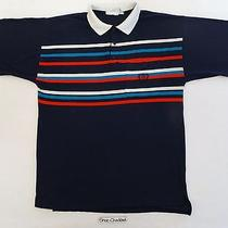 Vintage 80s Givenchy Activewear Tennis Polo Shirt Og Striped Hip Hop Designer L Photo