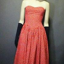 Vintage 80s Norma  Kamali Polka Dot Dress Photo